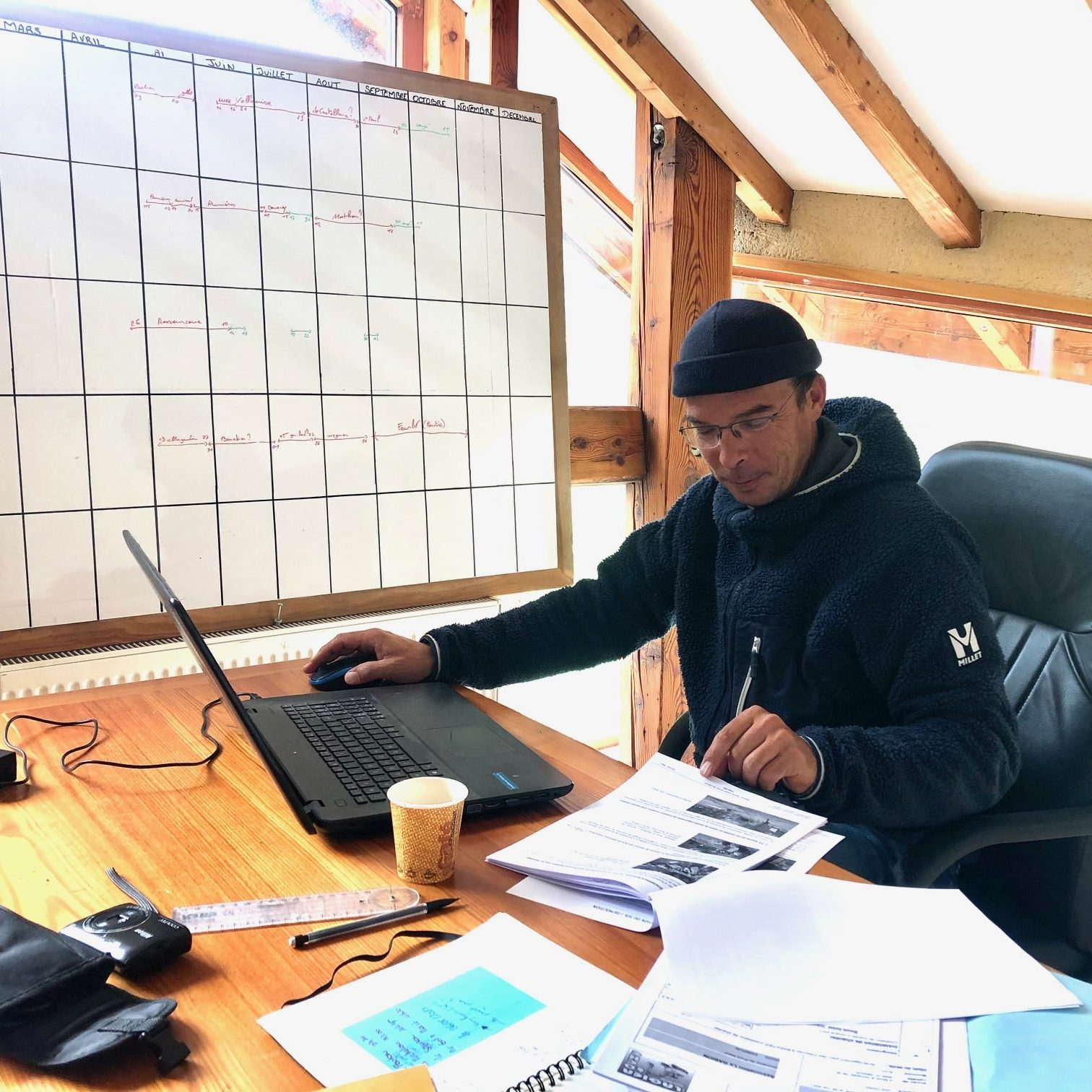 Mathieu Dugay - Coordonateur de chantiers